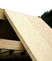 Enviropanel SIPs  form a roofspace without trusses